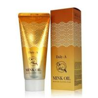 Пенка для умывания Deoproce Daily: A Mink Oil Moisture Cleansing Foam